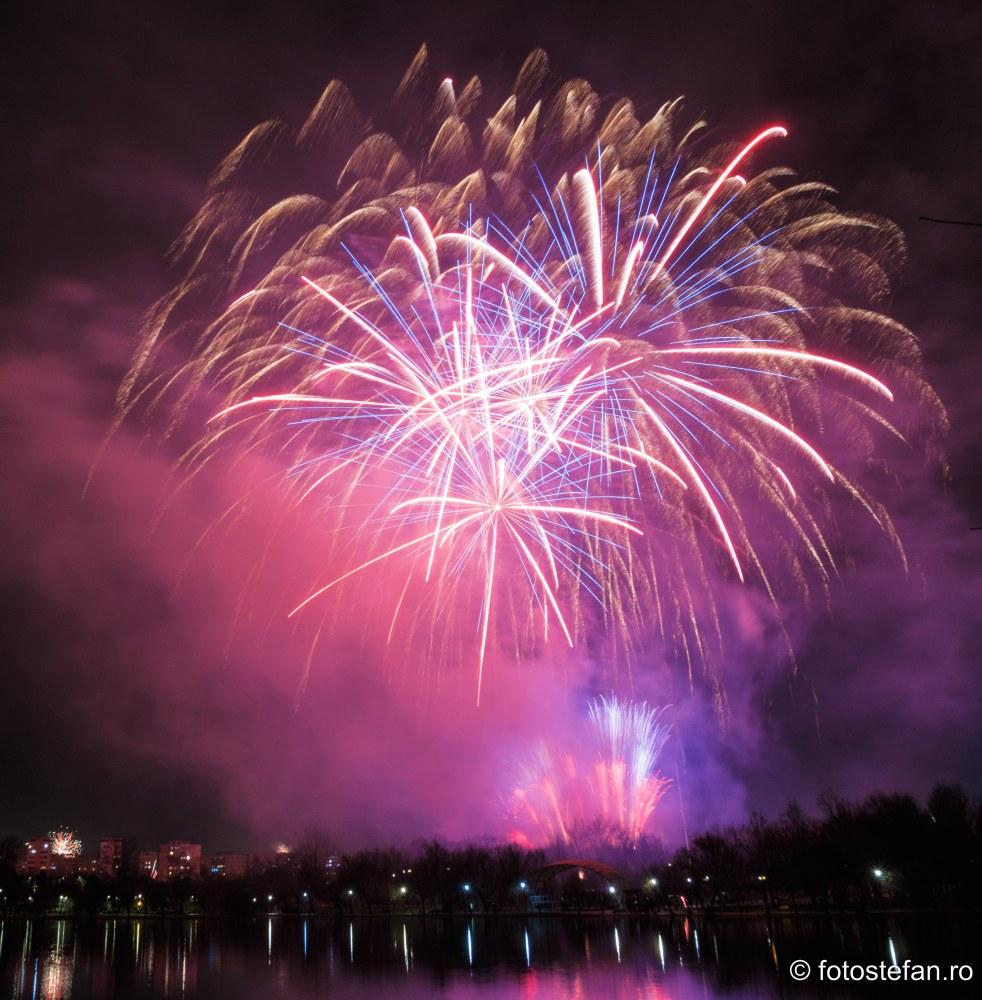 Artificii de Revelion 2020 parc tian bucuresti romania