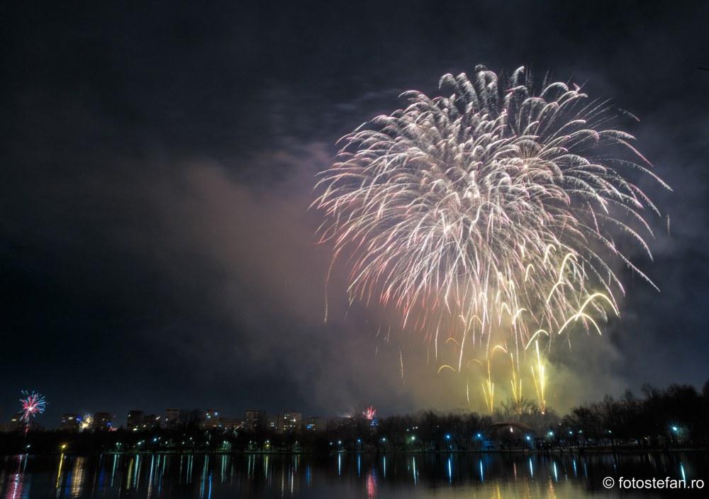 imagini artificii parc titan bucuresti sectoe 3