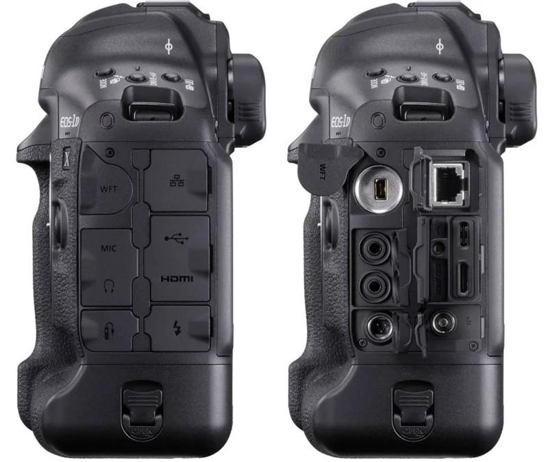 conexiuni aparat foto Canon 1Dx Mark III