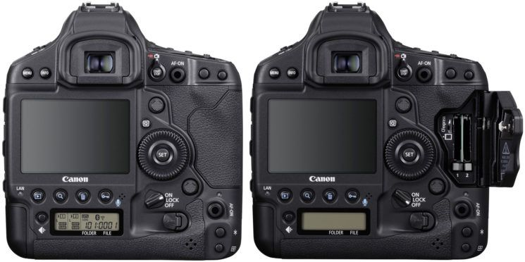 carduri memorie aparat foto dslr Canon EOS-1D X Mark III