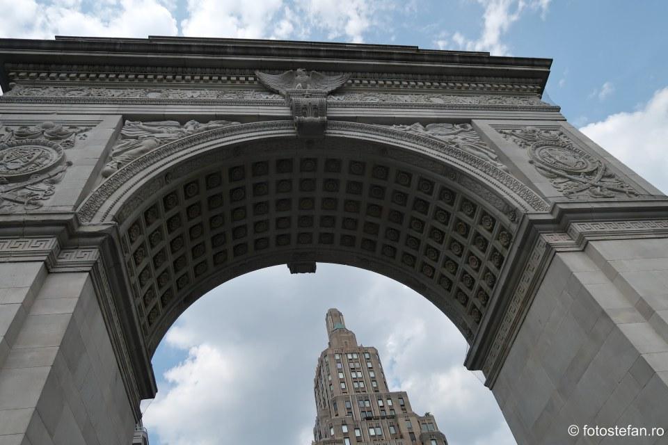 fotografie arhitectura arc triumg Washington Square Park america