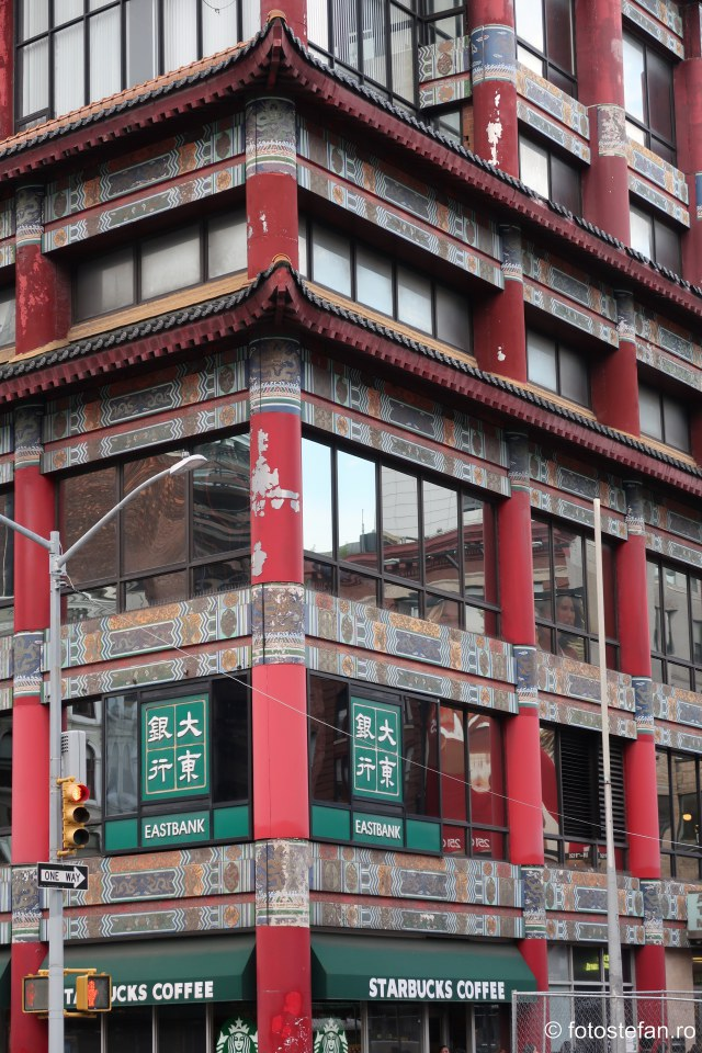fotografie cladire chineza new york america obiectiv turistic