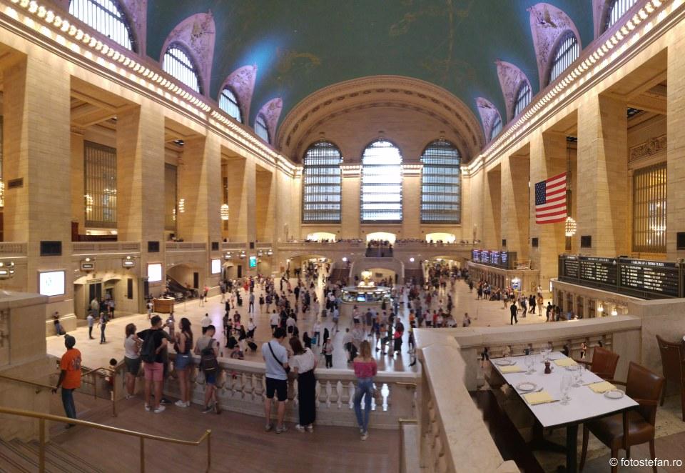 statie trenuri america obiectiv turistic vizita interior