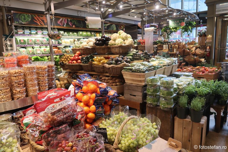 fotografie piata legume fructe alimente mancare america de nord