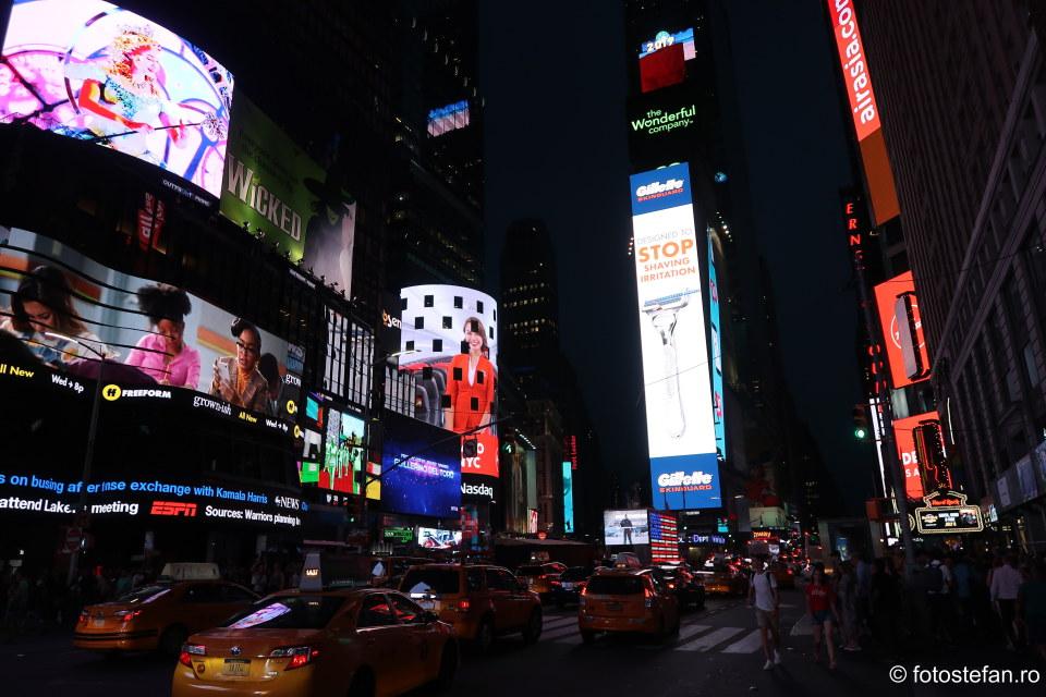 fotografie turistica times square new york america