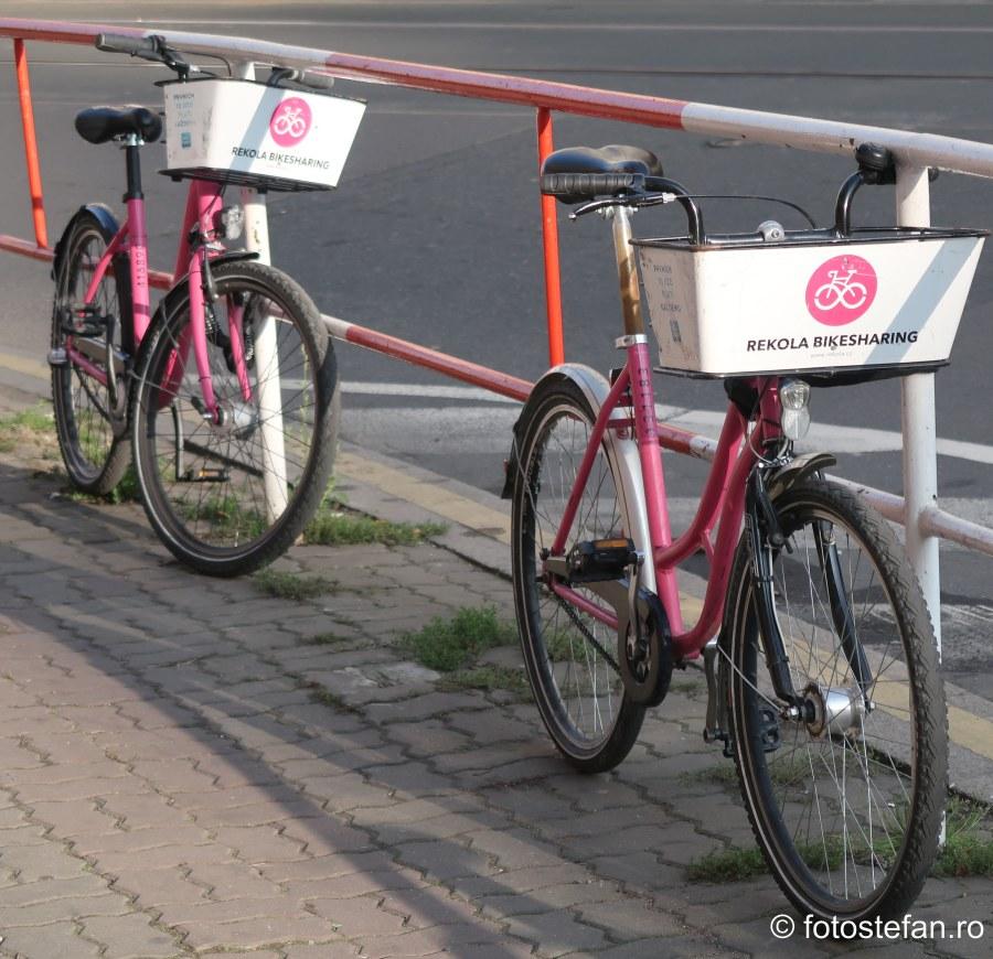 rekola bikesharing prague cehia europa