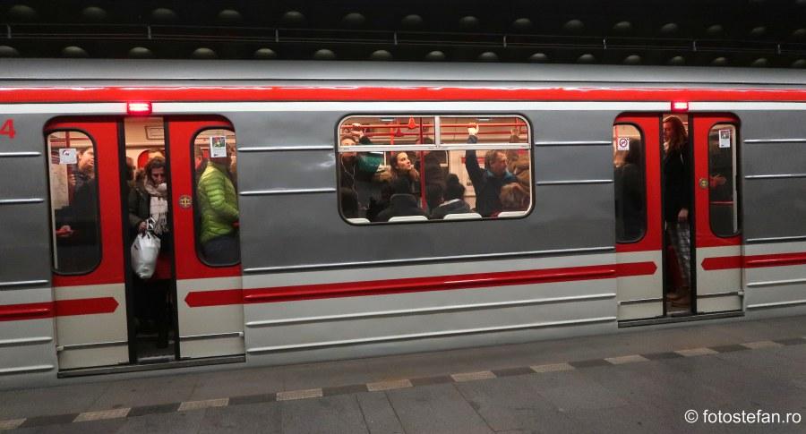 poza aglomeratie metrou praha cehia
