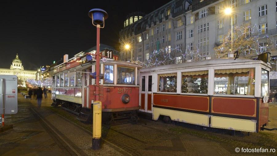 Transportul public in Praga poza tramvaie bar
