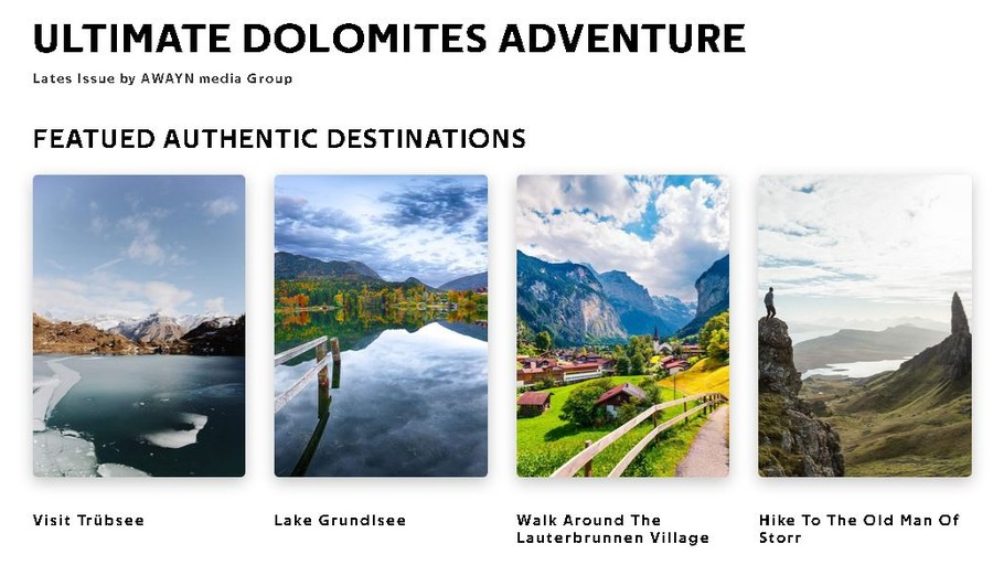 planificare calatorie vacanta dolomites italia europa revista turistica digitala