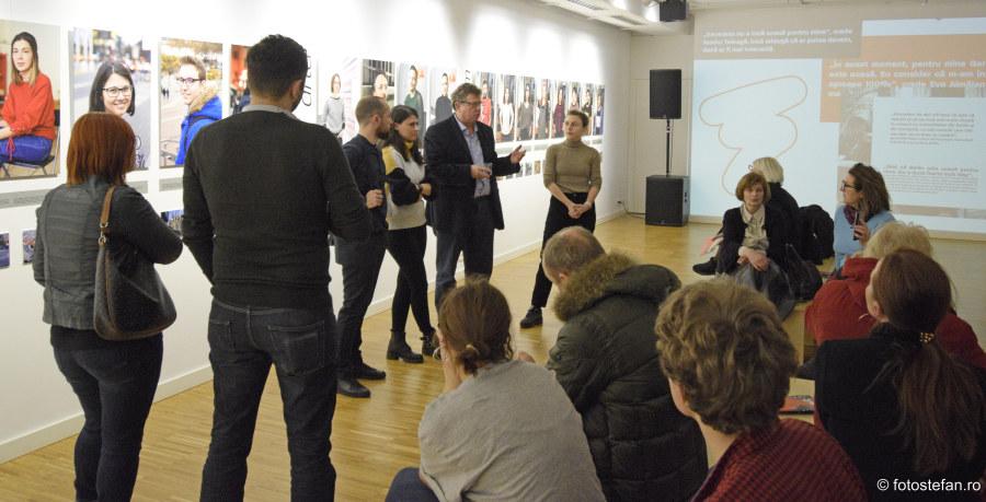 vernisaj expozitie fotografie acasa romani in Germania goethe institut bucuresti