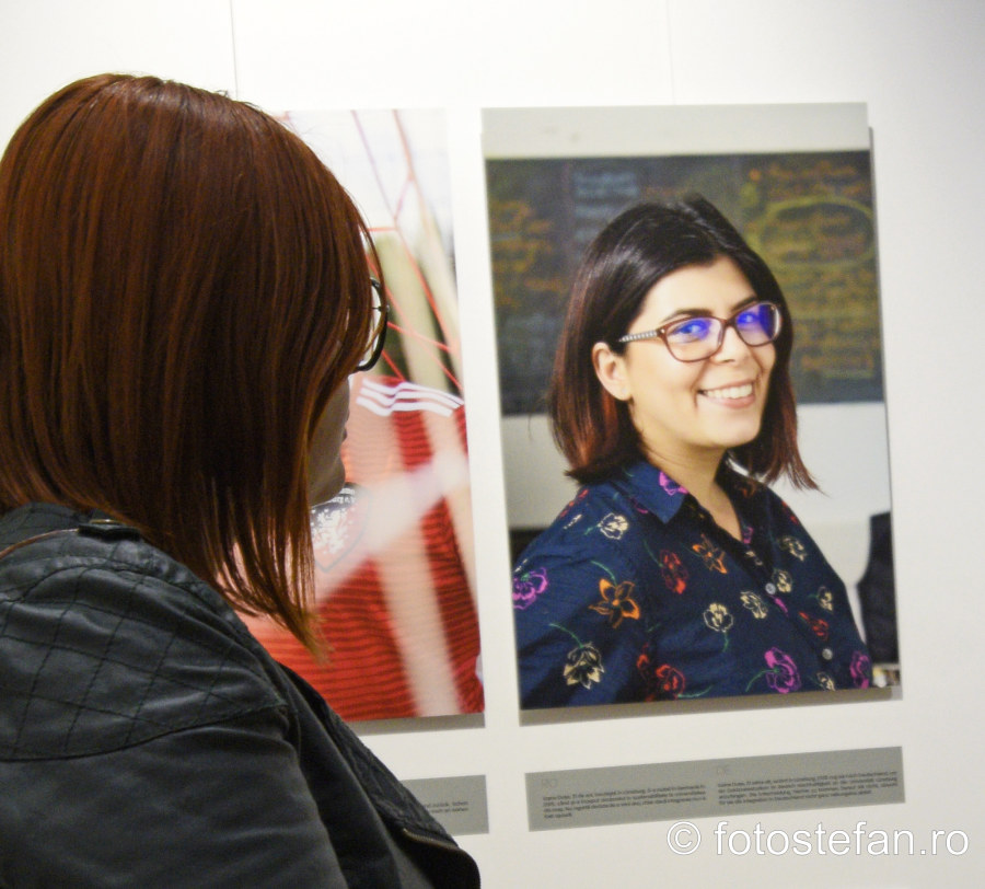 fotografii portret vernisaj expozitie acasa goethe institut romani in Germania