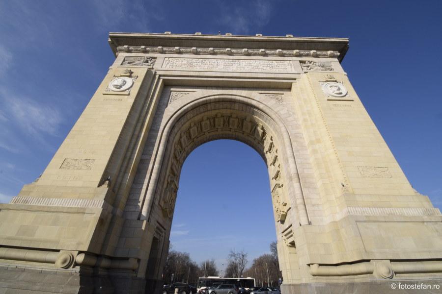 arhitectura arc de triumf bucuresti romania cladire