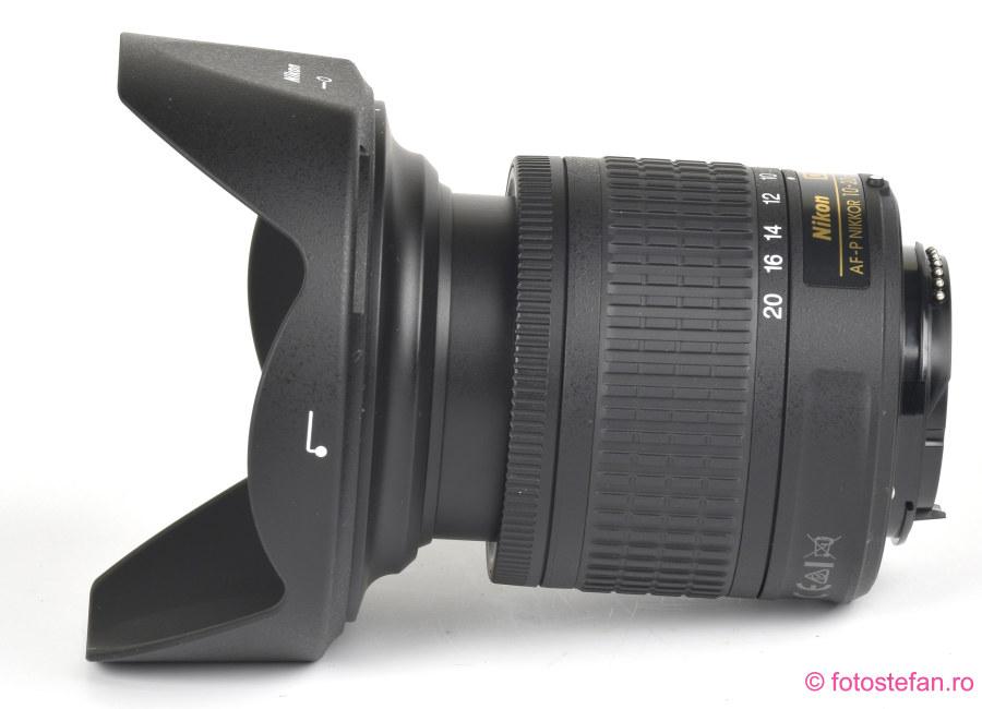 poza obiectiv zoom Nikon AF-P DX NIKKOR 10-20mm f/4.5-5.6G VR test