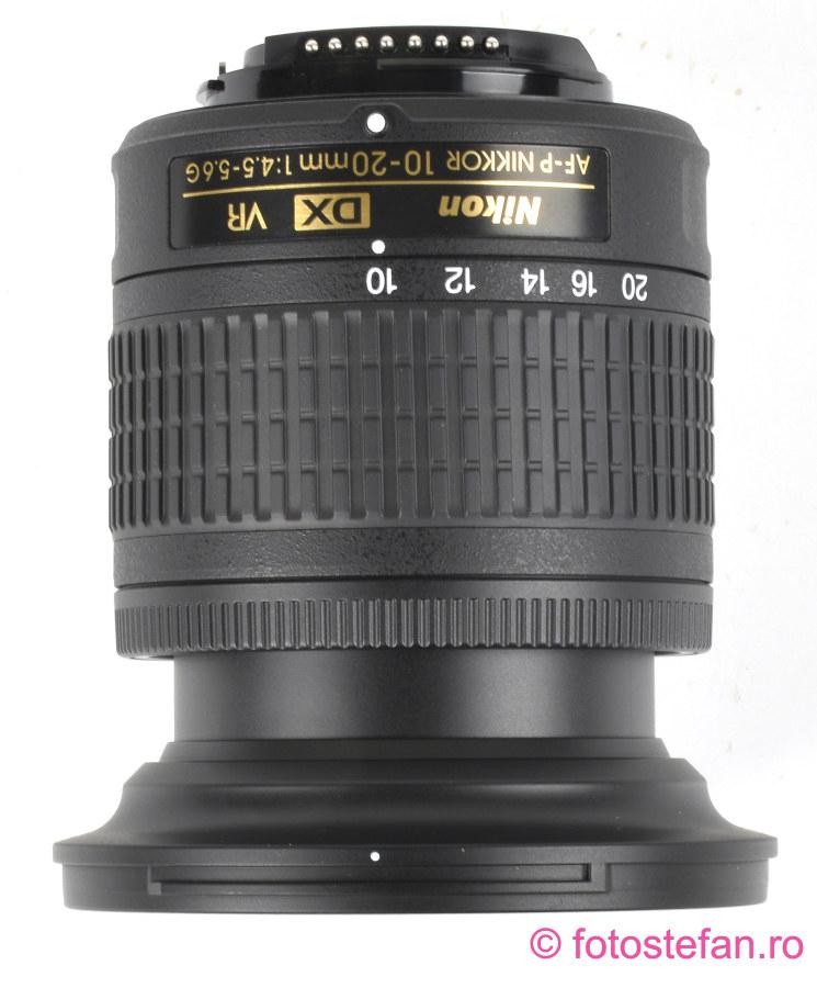 poza obiectiv zoom AF-P DX NIKKOR 10-20mm f/4.5-5.6G VR
