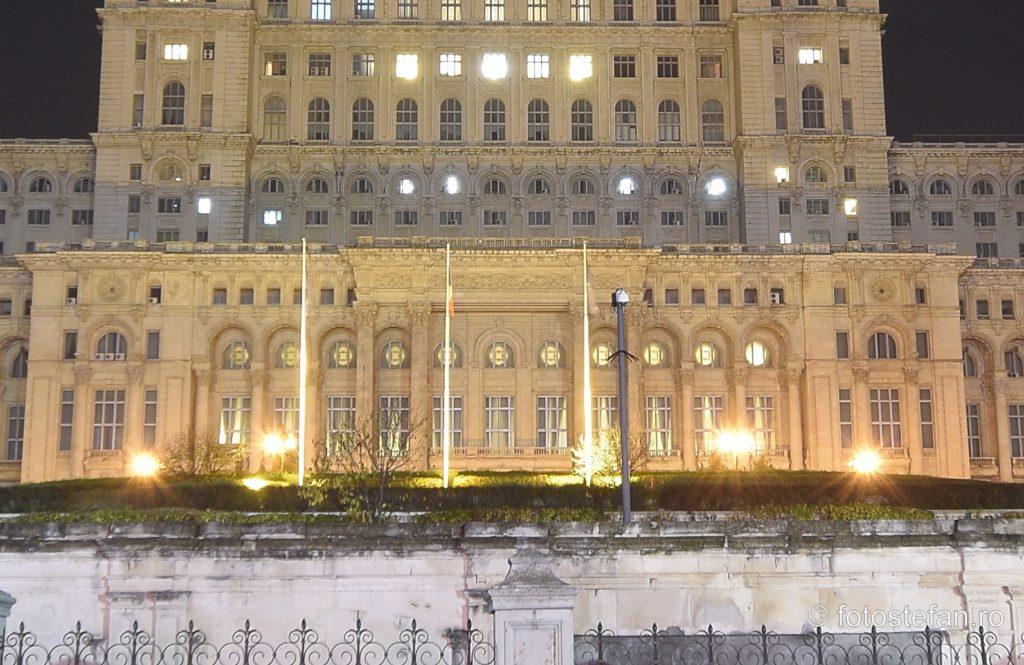 detaliu arhitectura cladire mare bucuresti romania