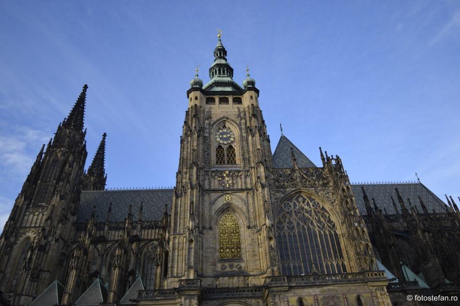 fotografii Catedrala Sf. Vitus praga obiectiv ultra wide zoom nikon