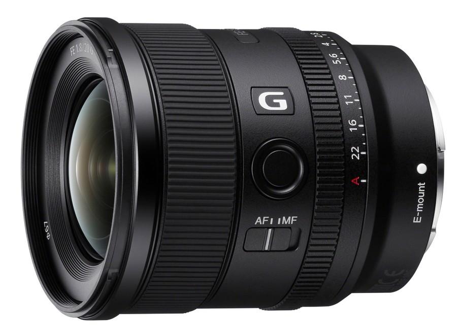 Sony FE 20mm F1.8 G poza obiectiv fix performant montura e