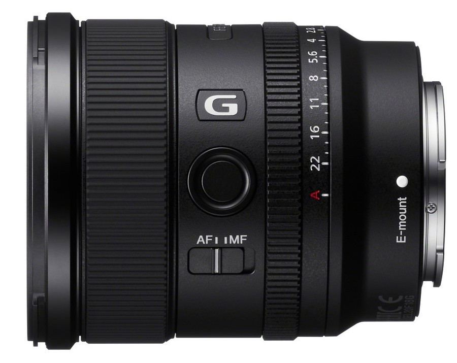 poza obiectiv mirrorless Sony FE 20mm F1.8 G SEL20F18G