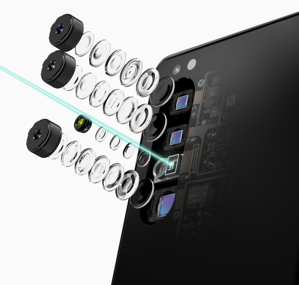 poza camere foto smartphone Sony Xperia 1 II fotografii ca un profesionist