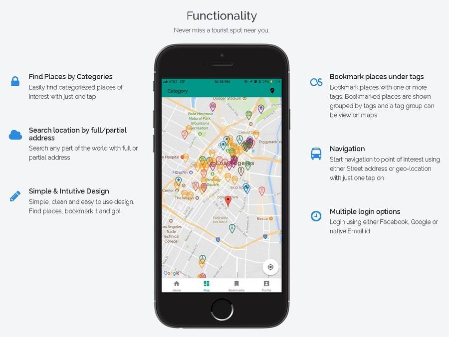 android iphone aplicatii gratuite pentru planificarea calatoriilor harta obiective turistice