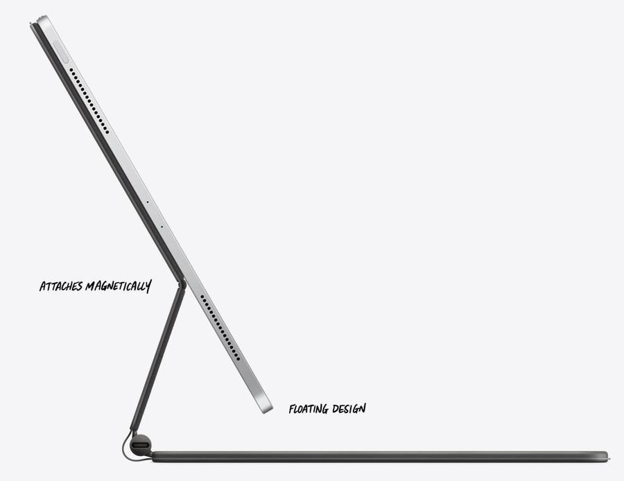poza magic keyboard Apple iPad Pro tableta 2020