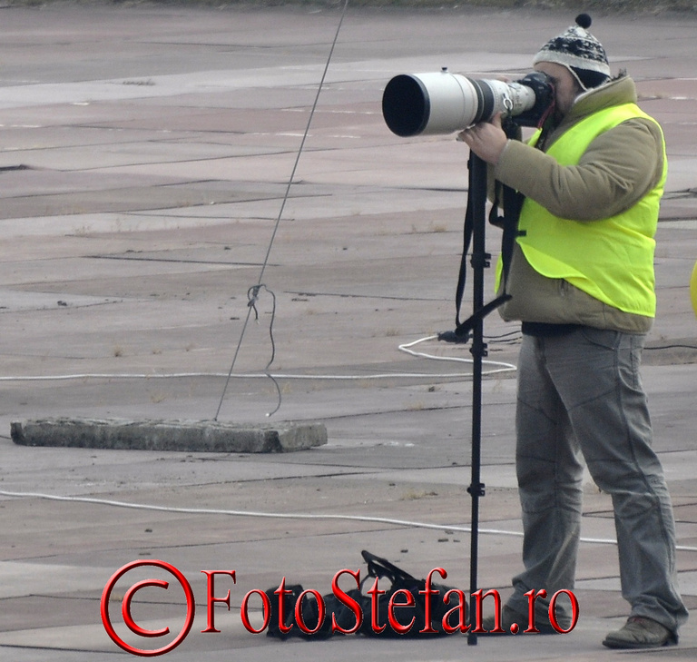 poza fotograf sport Monopied foto-video teleobiectiv