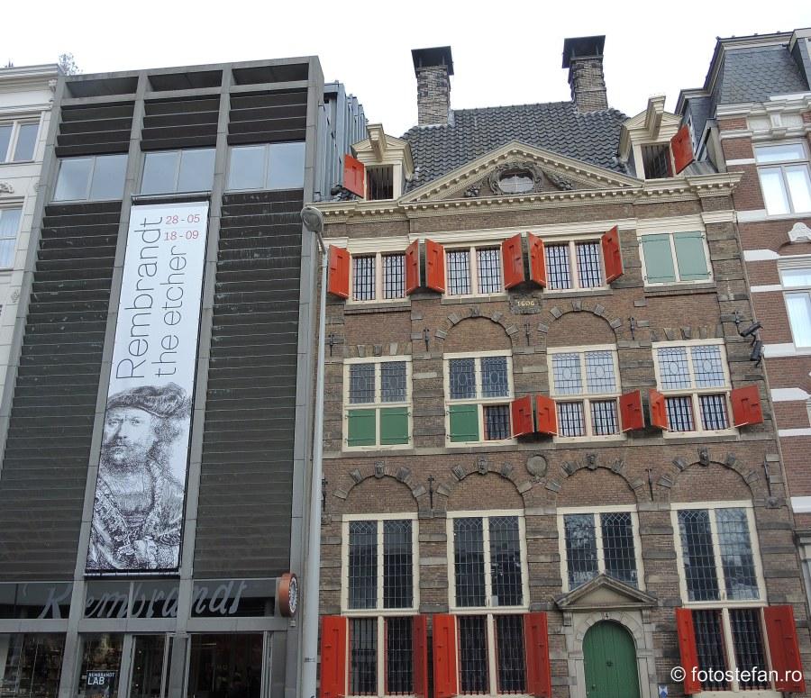 fotografie obiectiv turistic muzeu rembrandt amsterdam