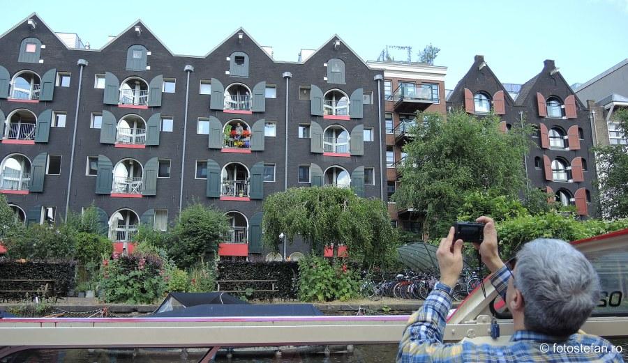 poza turist fotograf amsterdam olanda