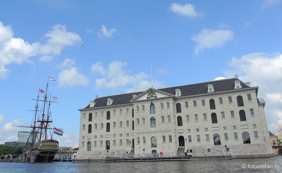 voc replica Het Scheepvaartmuseum Amsterdam Holland