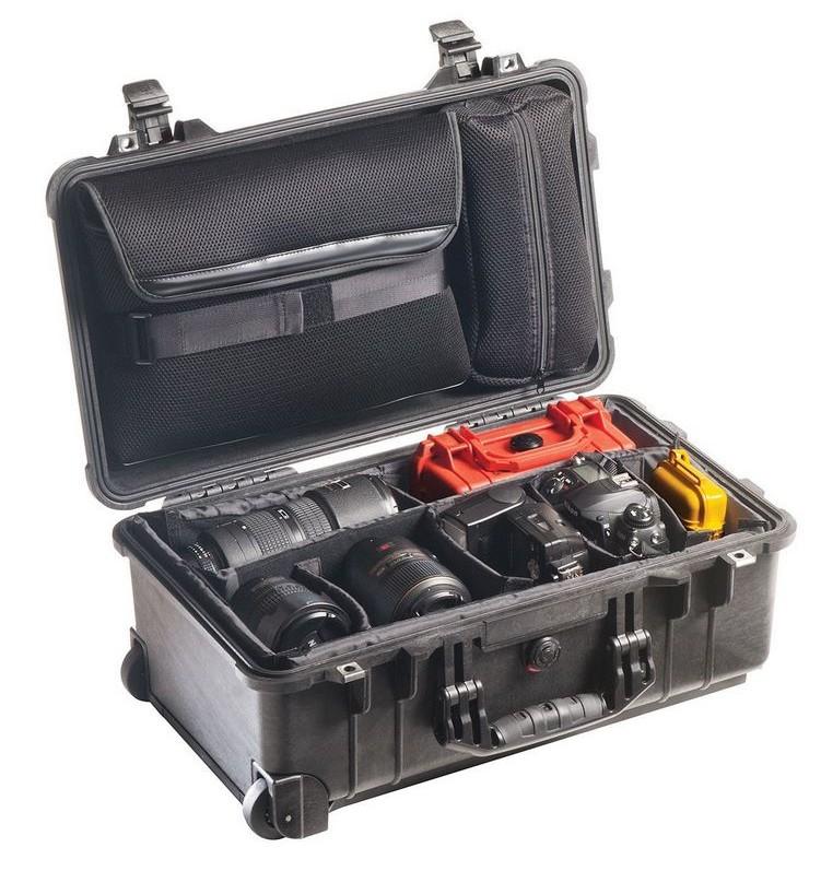 valiza rigida peli protectie echipament foto video laptop