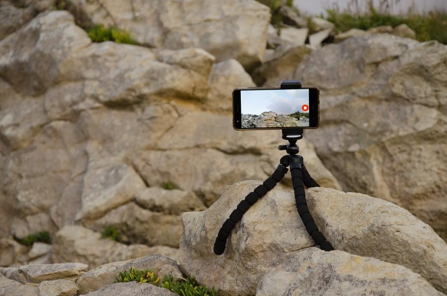 fotografie trepied telefon mobil accesorii vlogging smartphone imagini mai bune