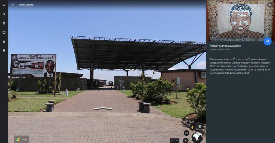calatorie tur virtual lider sud african mandela