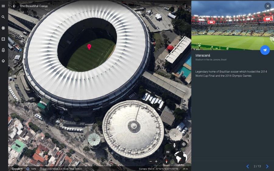 tur virtual stadion fotbal celebru turism