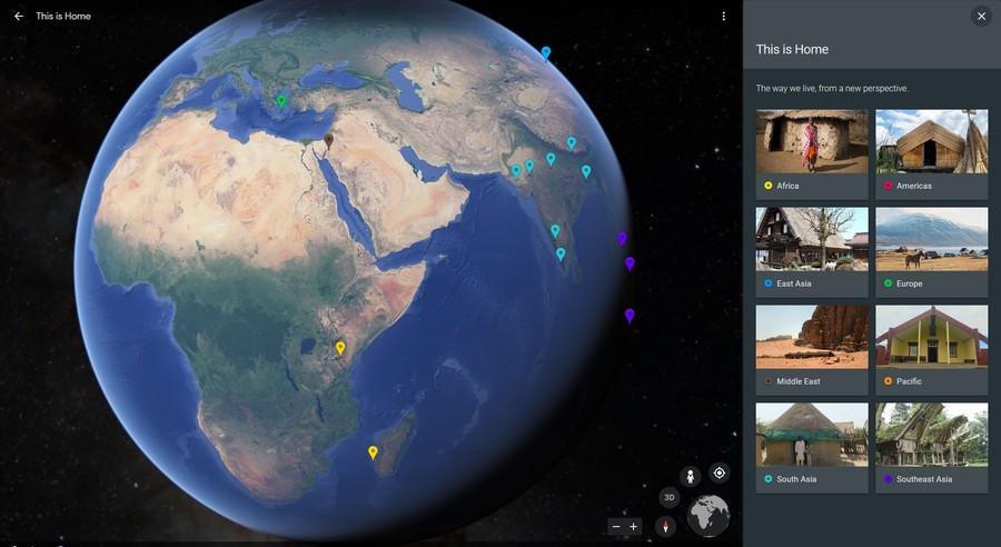 tururi virtuale case istorice mapamond google street view