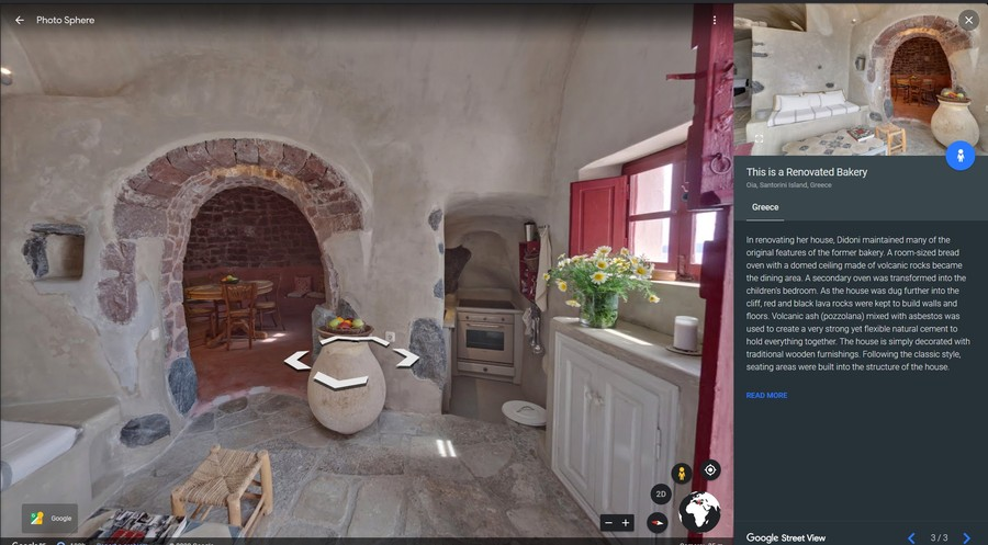 google earth tururi virtuale interioare case istorice