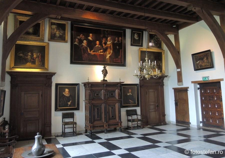 fotografie salon cetatea Muiderslot muzeu unesco olanda