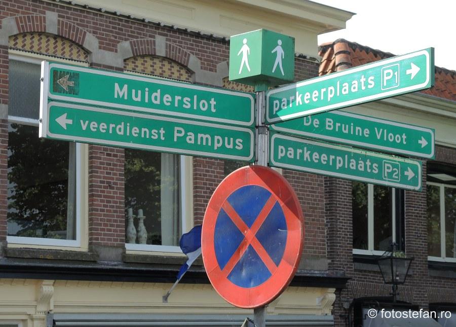 poza indicator turistic muiden olanda