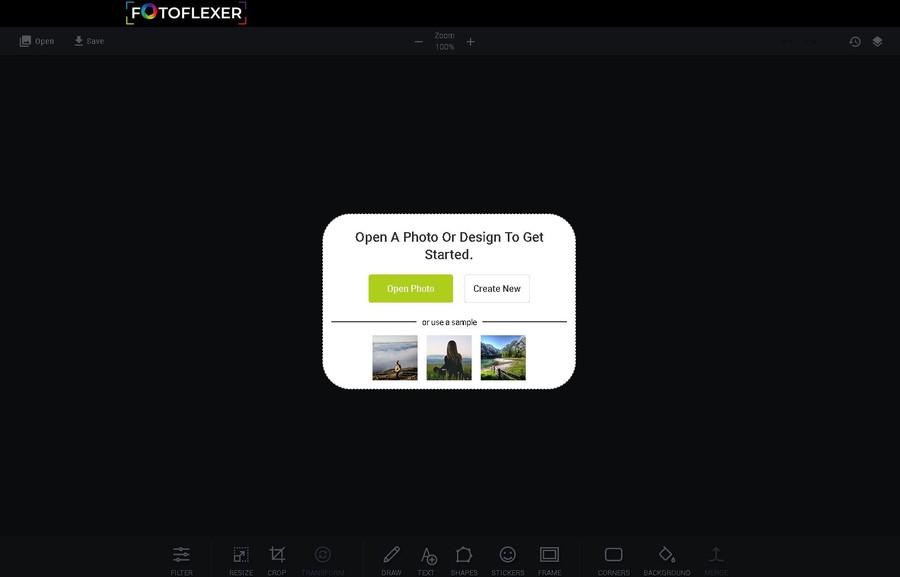 fotoflexer dite prelucrare fotografii online gratuit