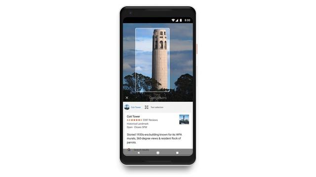 google lens functie google photos aflare informatii