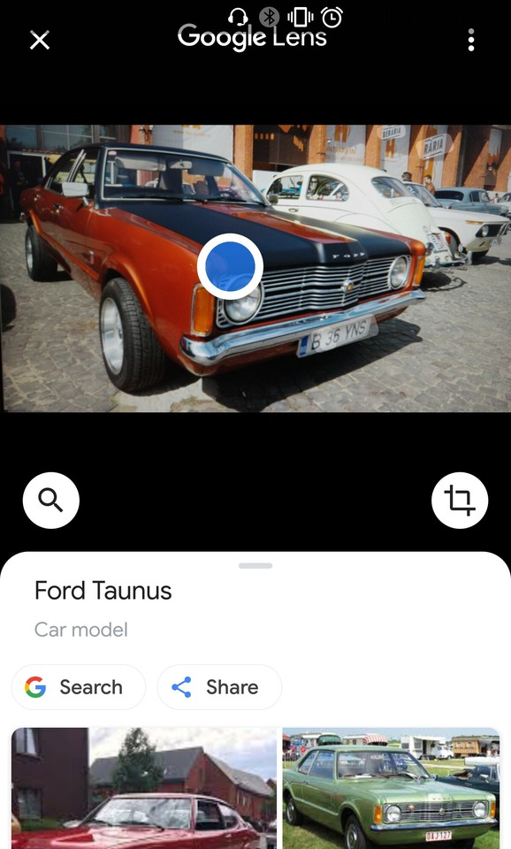 rezultate cautare google lens poza ford taunus pinto