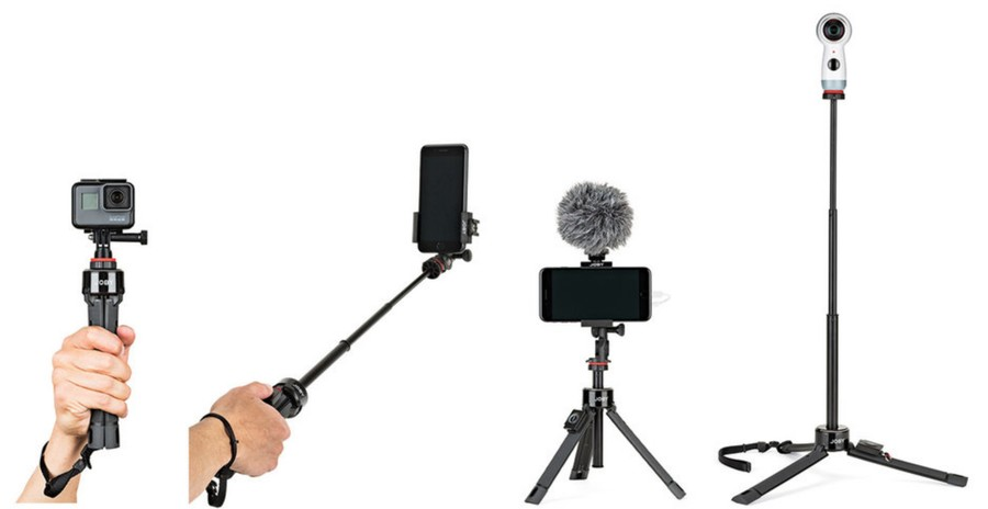 Joby GripTight PRO TelePod imagini mai bune telefon camera actiune