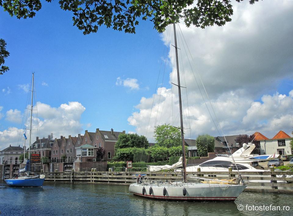 fotografie yacht panze canal olanda locuri de vizitat langa Amsterdam
