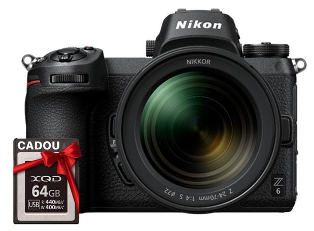 nikon z6 24-70mm f/4 s card xqd cadou