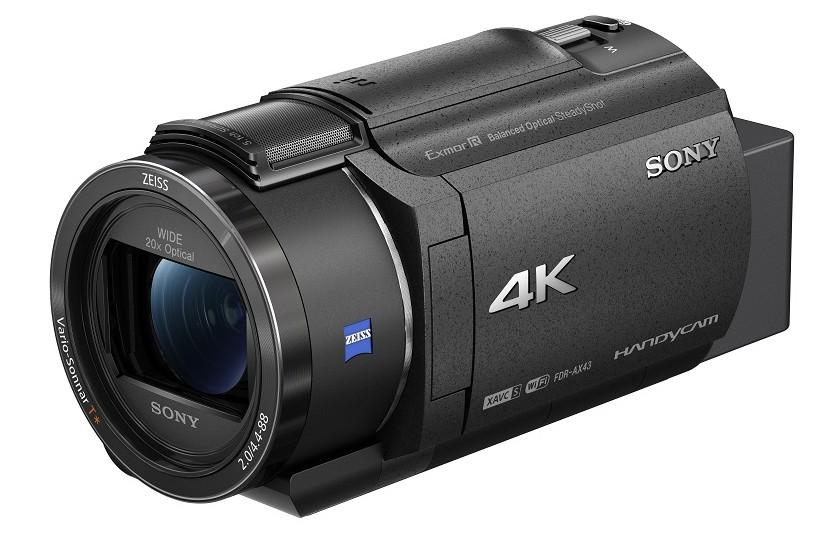 camera video handycam Sony FDR-AX43 4k gimbal
