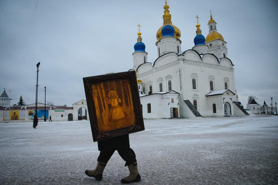 poza icoana biserica rusia copil cisme
