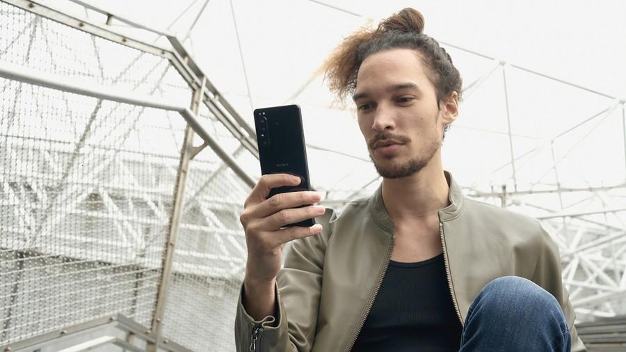Sony Xperia 1 II telefon mobil aparat foto performant