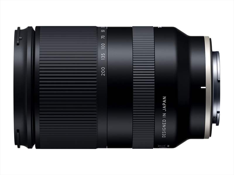 obiectiv zoom tamron 28-200mm aparat foto sony mirrorless