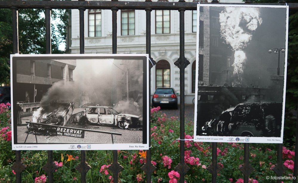 fotojurnalism expozitie foto palatul sutu bucuresti Fenomenul Piata Universitatii - 13-15 iunie 1990 - Mineriada