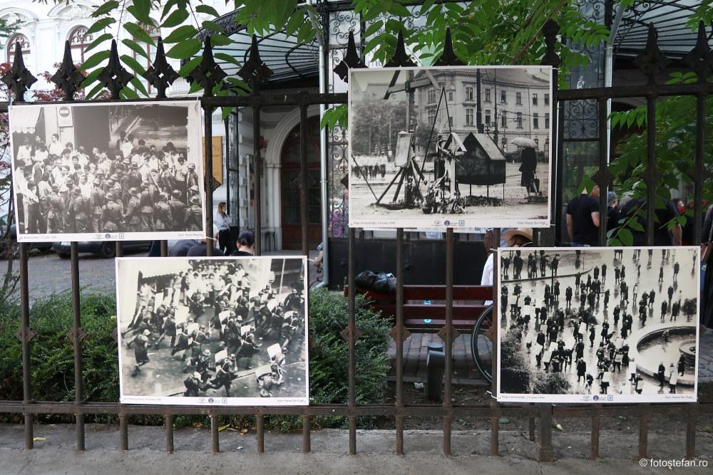 expoziti fotografie documentara fenomenul piata universitatii iunie 1990 protest anticomunism
