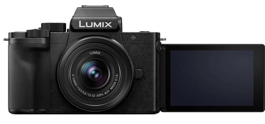 poza lcd mobil aparat foto mirrorless Panasonic Lumix DC-G100 selfie